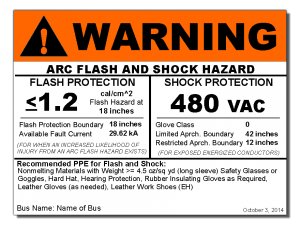 Hazard labeling | Rozel arc flash studies