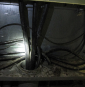 hole in panel Preventative Maintenance