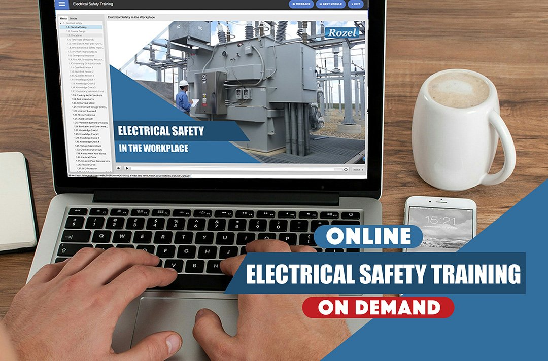 Rozel's affordable online electrical safety training